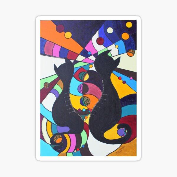 Zip Kitten - free! Sticker