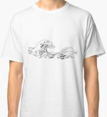 """The Great Wave off Kanagawa"" Classic T-Shirt"