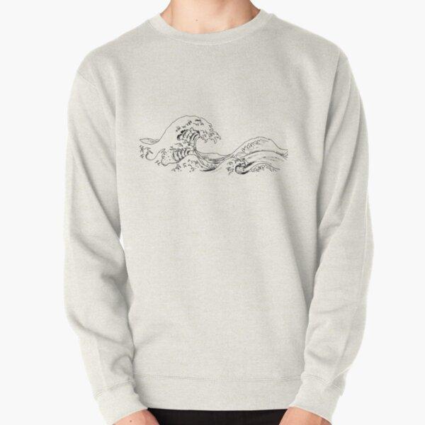 """The Great Wave off Kanagawa"" Pullover Sweatshirt"