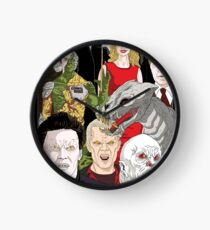 Buffy Big Bad Poster Clock