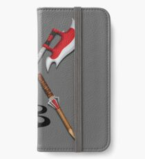 Buffy -- Scythes Crossed iPhone Wallet/Case/Skin