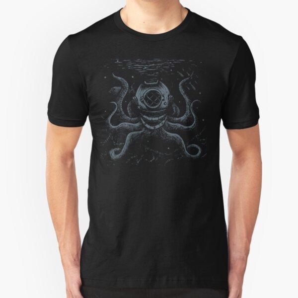 Octopus Diver Slim Fit T-Shirt