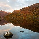 Loch Hourn Autumnal Reflections by derekbeattie