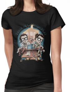 Truth Or Consequences Womens Fitted T-Shirt