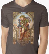 Hylian Spirit Mens V-Neck T-Shirt