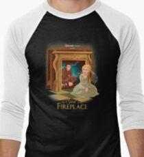 The Girl In The Fireplace Men's Baseball ¾ T-Shirt
