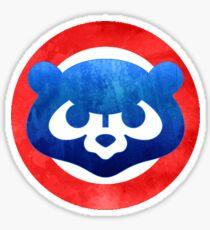 Cute Chicago Cubs Logo Sticker