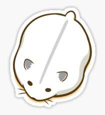 Melting Hamster Sticker