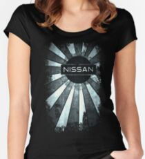 Rays of Nissan  Women's Fitted Scoop T-Shirt