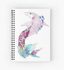 Pollution Shark Spiral Notebook