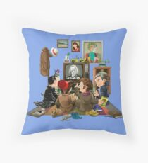 50 Years of The Doctor Throw Pillow
