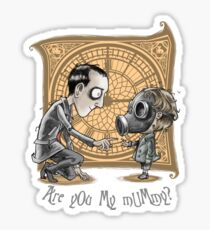 I Am Not Your Mummy Sticker