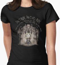 Do not Blink Women's Fitted T-Shirt
