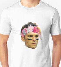 Flower Crown Tom Brady Unisex T-Shirt