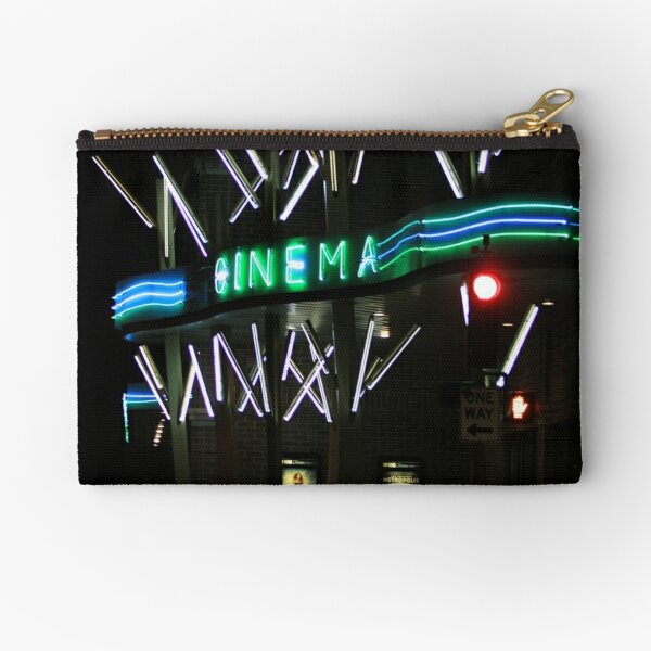 Cinema Night Zipper Pouch
