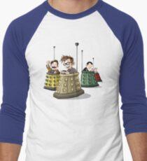 Bump the Doctor Men's Baseball ¾ T-Shirt