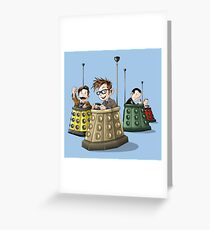 Bump the Doctor Greeting Card