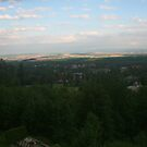 View from Grand Praha Hotel Tatranska Lomnica by Ilan Cohen