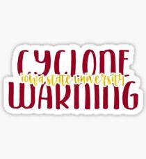 Iowa State University - Style 9 Sticker