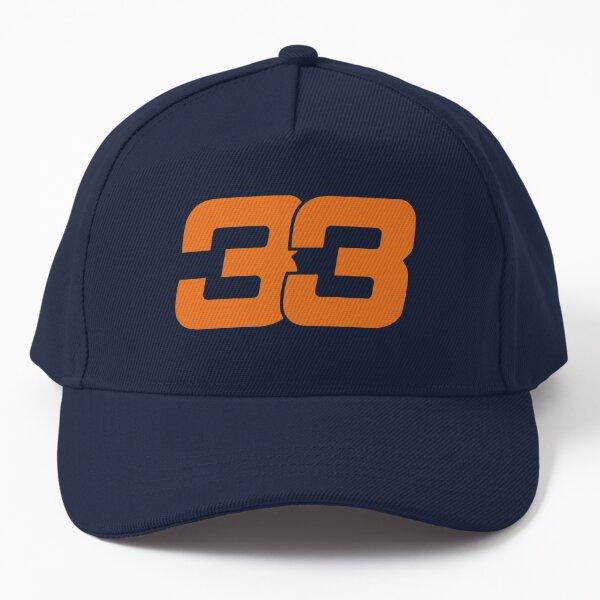 Max Verstappen 33 - Orange - Formula 1 Baseball Cap