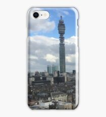BT Tower towers over London iPhone Case/Skin
