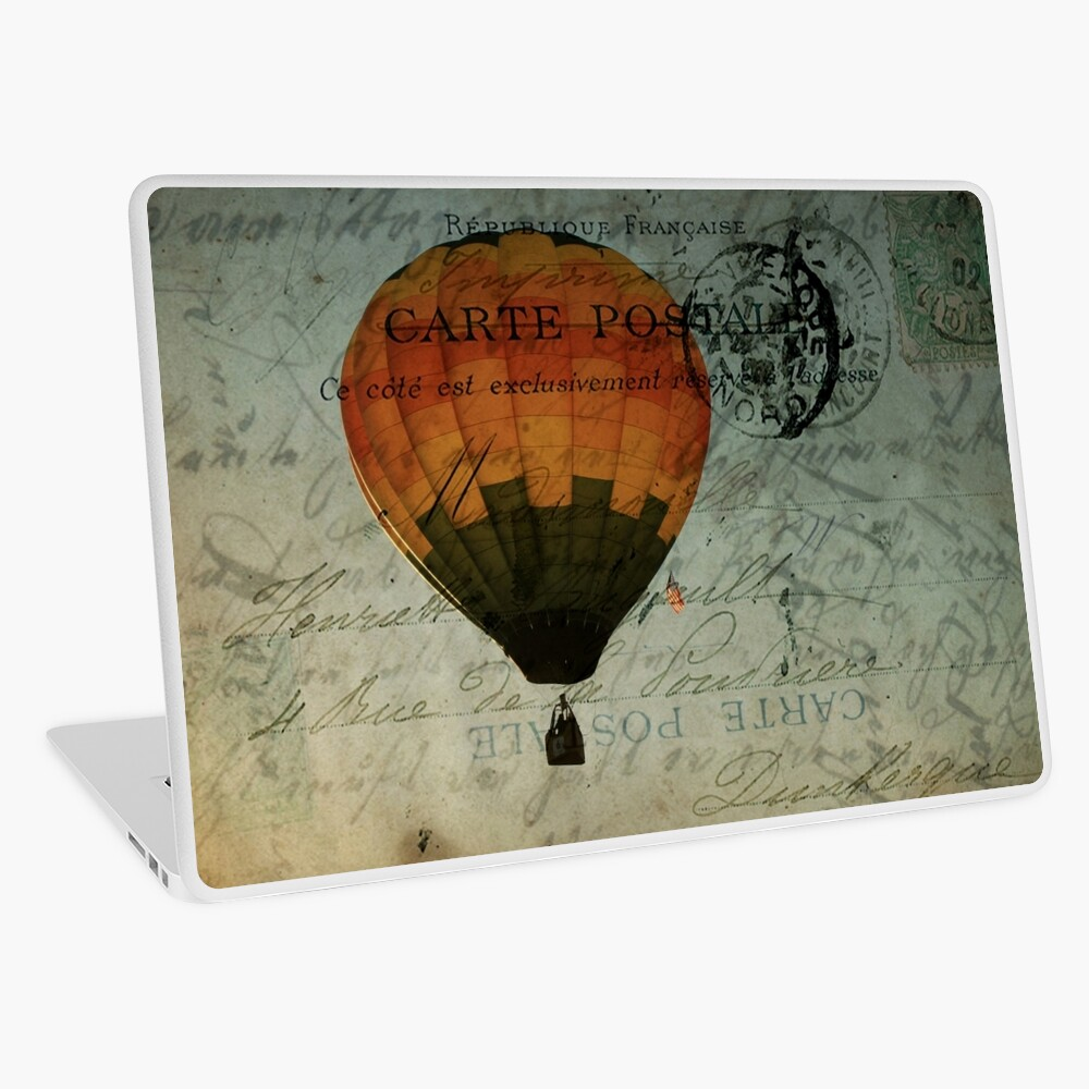 Come Travel the World With Me Laptop Skin