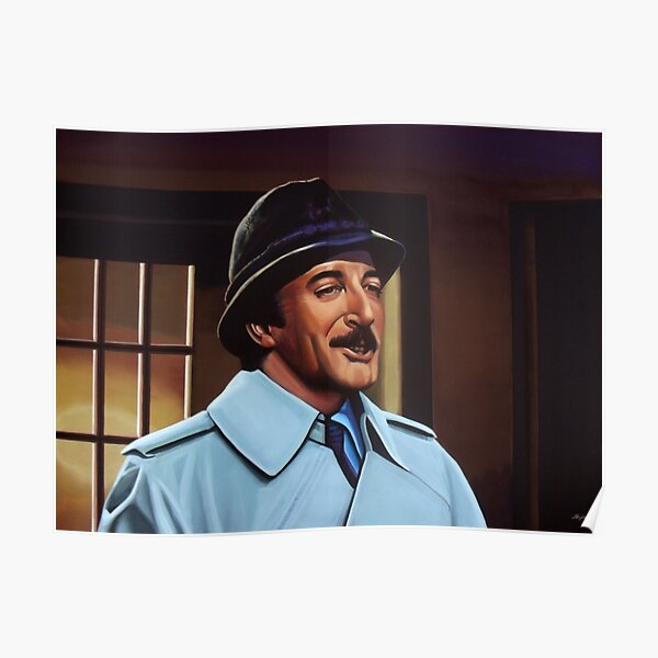 Peter Sellers Inspector Clouseau CATO Poster