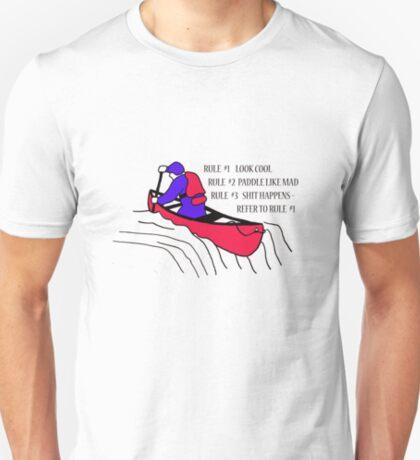 Canoeist Rule Book T-Shirt