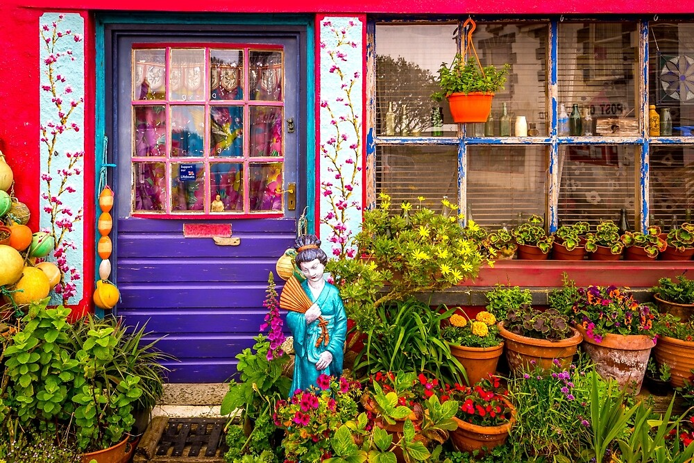 Colourful Shop Front Display (Wide) by StephenRphoto