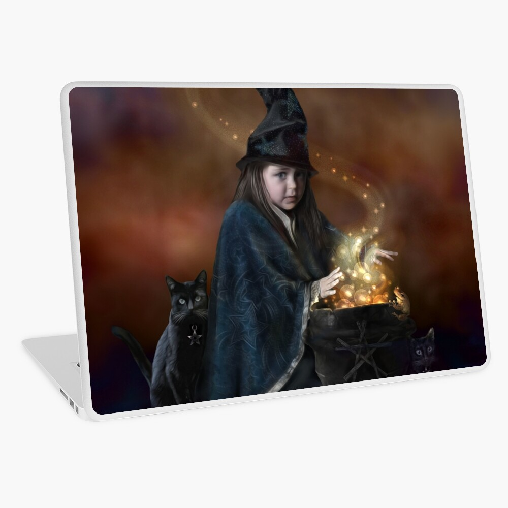 The Little Witch Laptop Skin