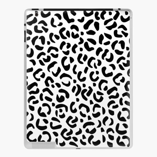 Black and white skin iPad Skin