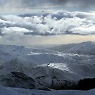 Lochaber Hills in Winter by beavo