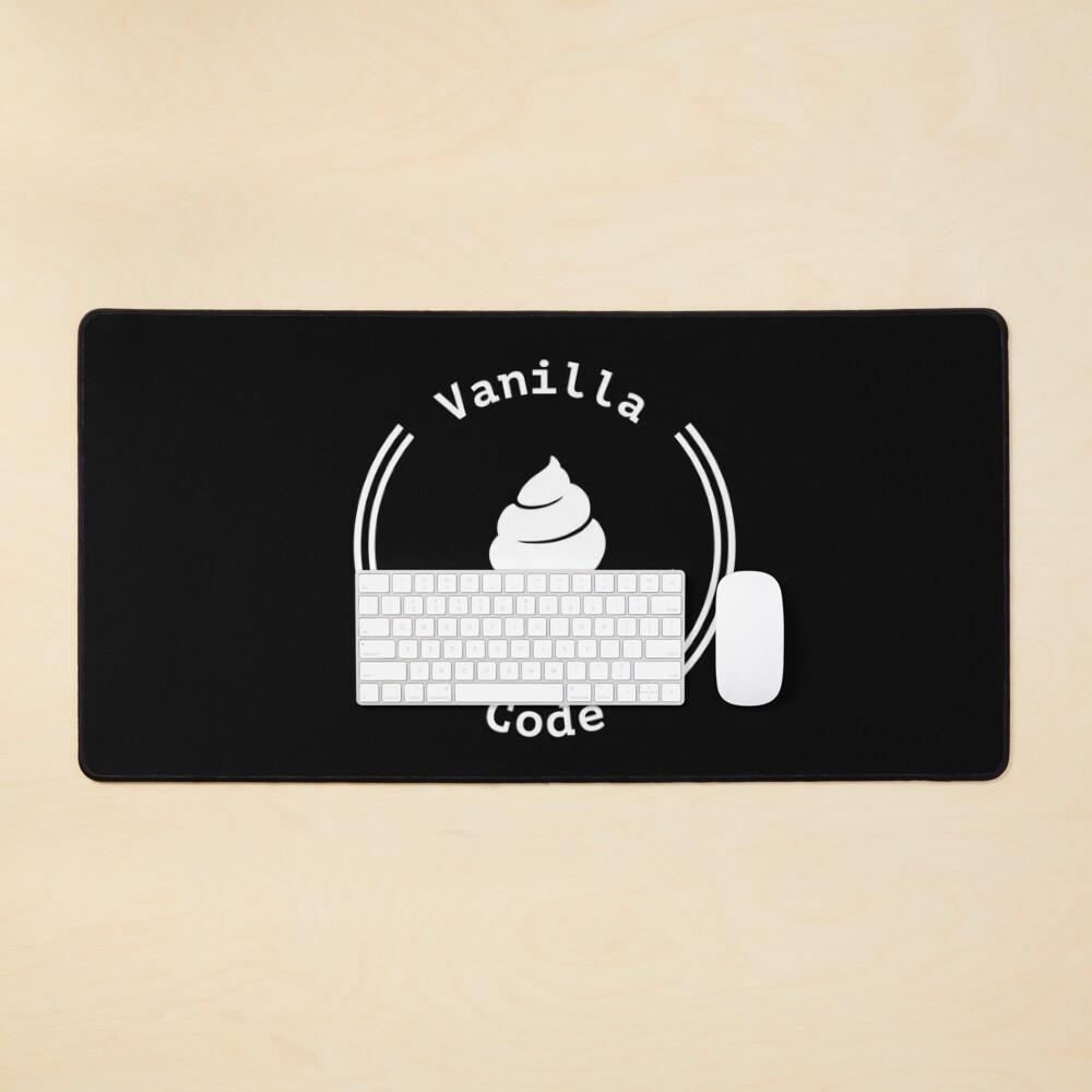 Vanilla Code Ice Cream Mouse Pad