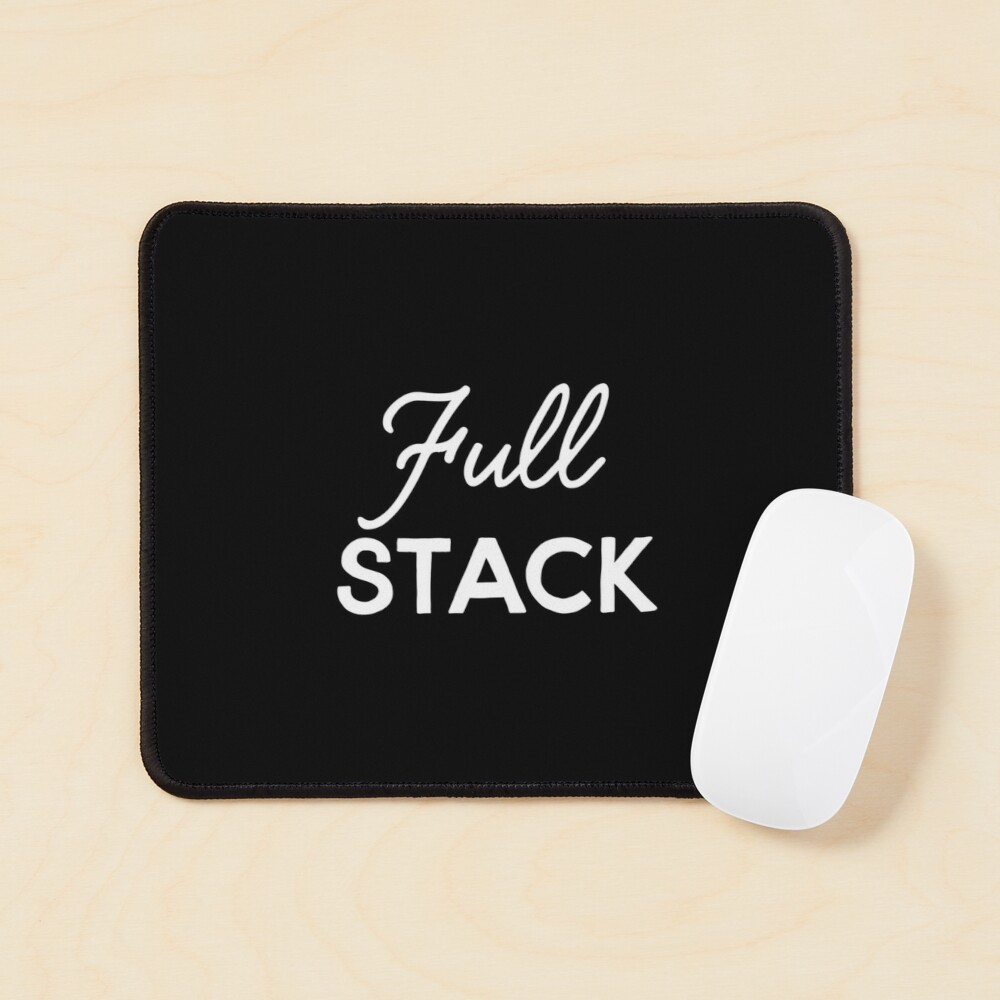 Full Stack Developer Mouse Pad