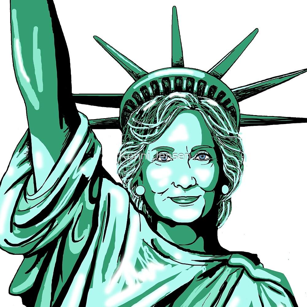 Hillary Liberty by Konni Jensen