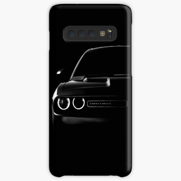 dodge challenger 2015, black shirt Samsung Galaxy Snap Case