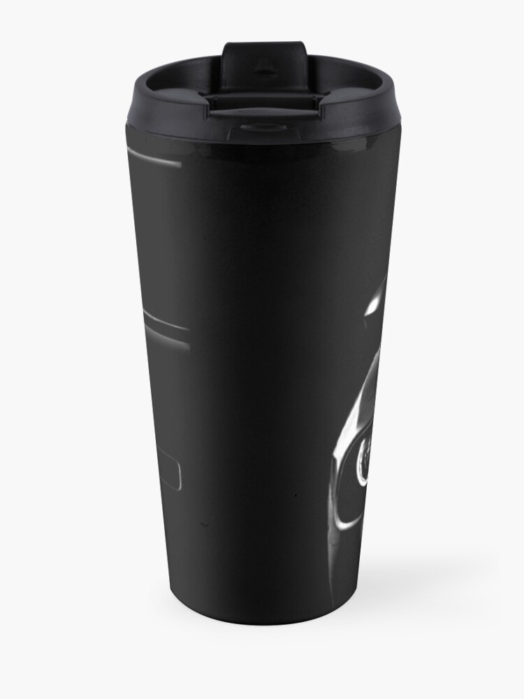 Alternate view of dodge challenger 2015, black shirt Travel Mug