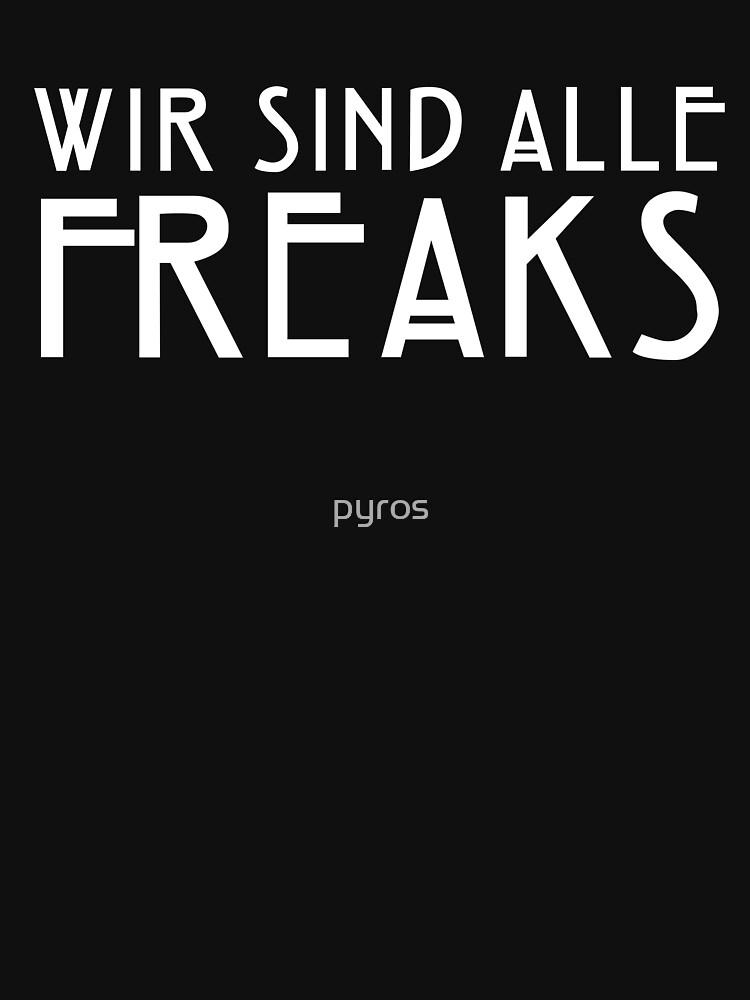 We Are All Freaks - V   Unisex T-Shirt