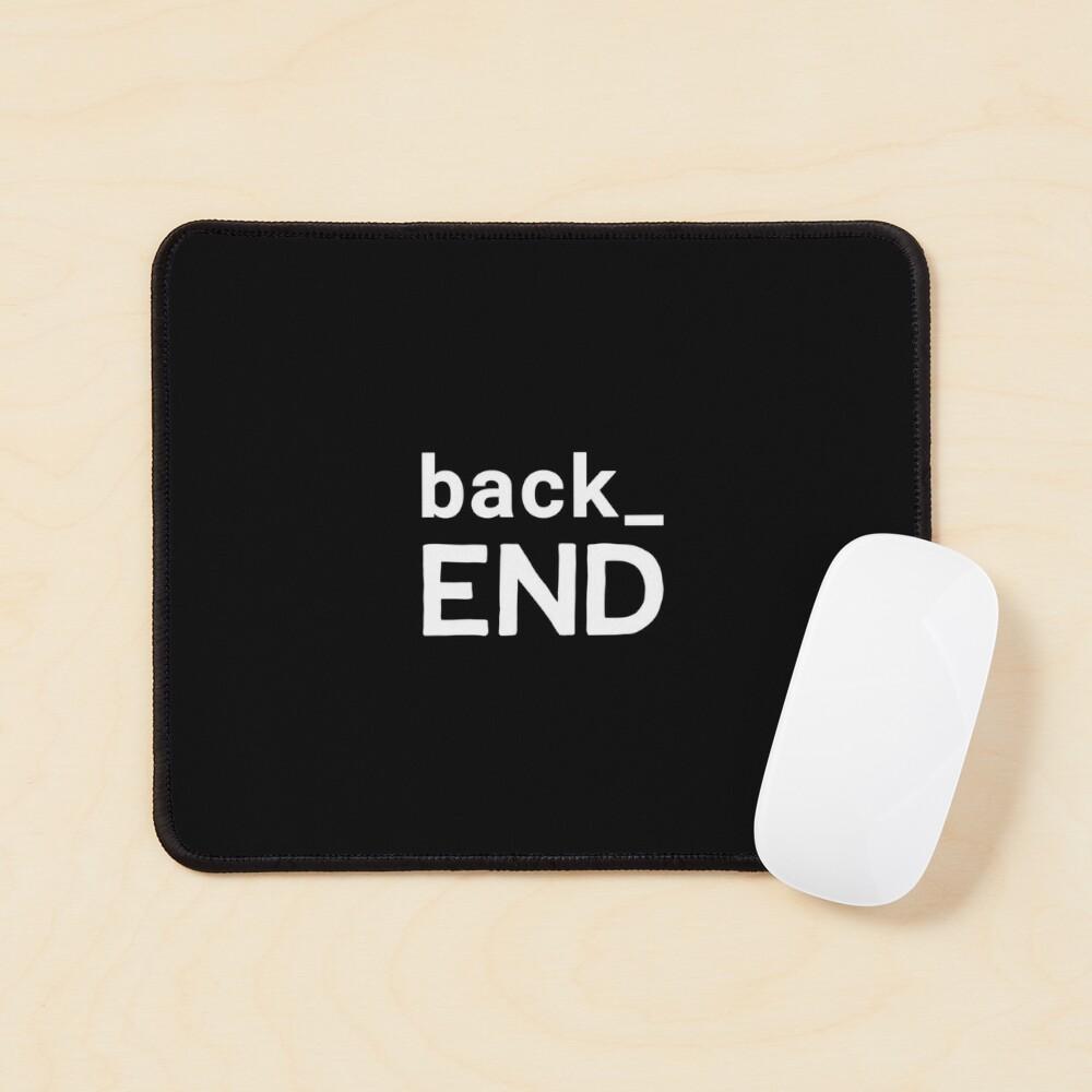 Back End Developer Mouse Pad
