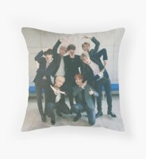 BTS ♥ Groups v1 Throw Pillow