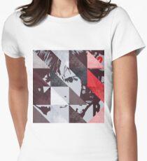 u2 war triangles Women's Fitted T-Shirt
