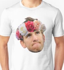 Flower Crown Eli Manning Unisex T-Shirt