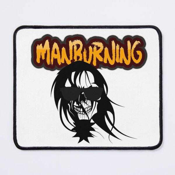 ManBurning Logo (black) Mouse Pad