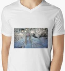 Snowstorm Men's V-Neck T-Shirt