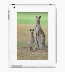 Kangaroos - Mum and Joey iPad Case/Skin