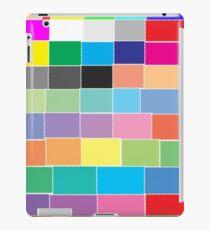 Game of colour blocks  iPad Case/Skin