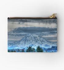 Mt Rainier in HDR Studio Pouch