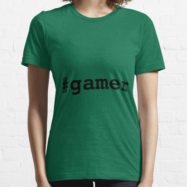 Hashtag Gamer - Black Essential T-Shirt