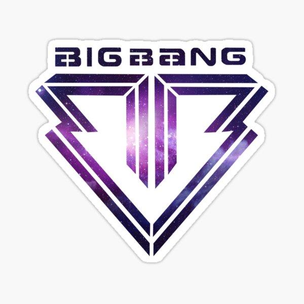 Big bang Logo Galaxy Sticker