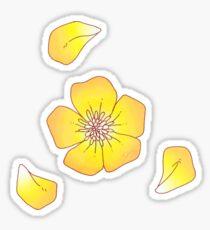 Flowerfell Buttercup Sticker